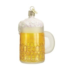 Old World Christmas Mug of Beer Ornament