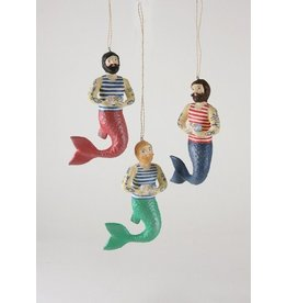 Merman Ornament