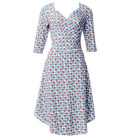 Blue Platypus Sweetheart Dress- Rosebud