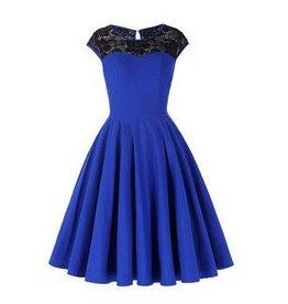 Frock It Rowena Dress in Cobalt