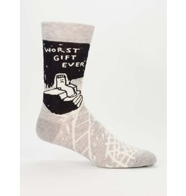 Blue Q Men's Socks-Worst Gift Ever