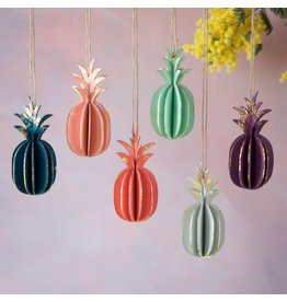 180 Degrees Ornaments- Pineapples