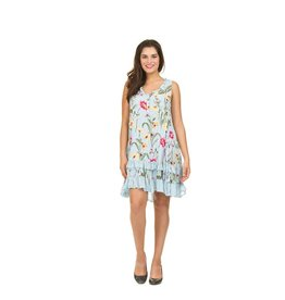 Papillon Belle Dress in Floral and Vine Print