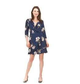 Juliet-Ruffle Mid Sleeve Dress
