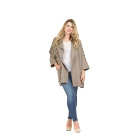 Papillon Alma Open Jacket in Khaki