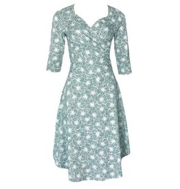 Blue Platypus Sweetheart Dress- Sage Flowers