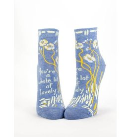 Blue Q Ladies Ankle Socks-Whole Lotta Lovely