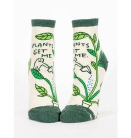 Blue Q Ladies Ankle Socks-Plants Get Me