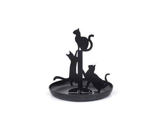 Kikkerland Cat Jewellery Stand