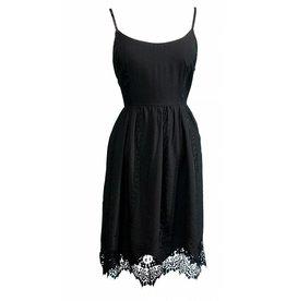 Yumi Louisa- Lace Trim Dress