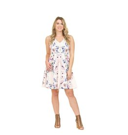 Papillon Kate Floral Halter Dress