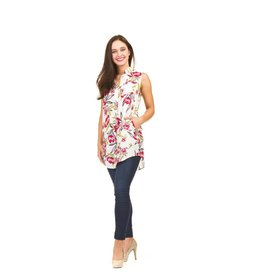 Papillon Isla Floral Top (More Colours)