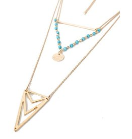 Diamond Rocket Multi Chain W/Triangle