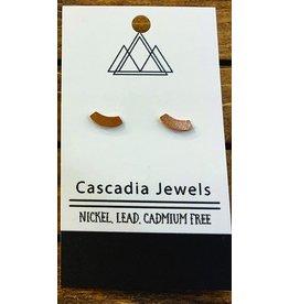 Cascadia Jewels Studs- Arch