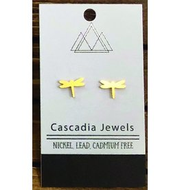 Cascadia Jewels Studs- Dragonflies