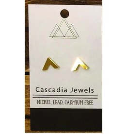 Cascadia Jewels Studs- Geometric