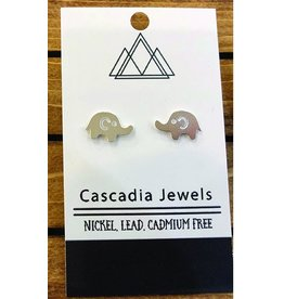 Cascadia Jewels Studs- Elephants