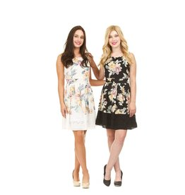 Papillon Suzie- Fit & Flare Dress