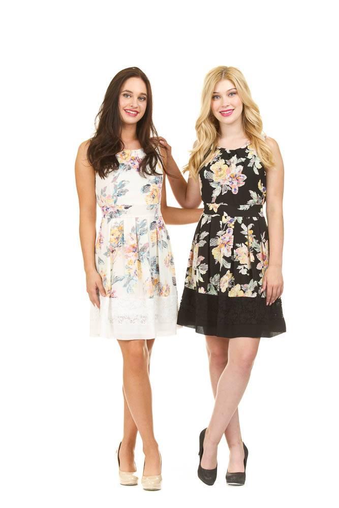 Papillon Suzie- Fit & Flare Dress