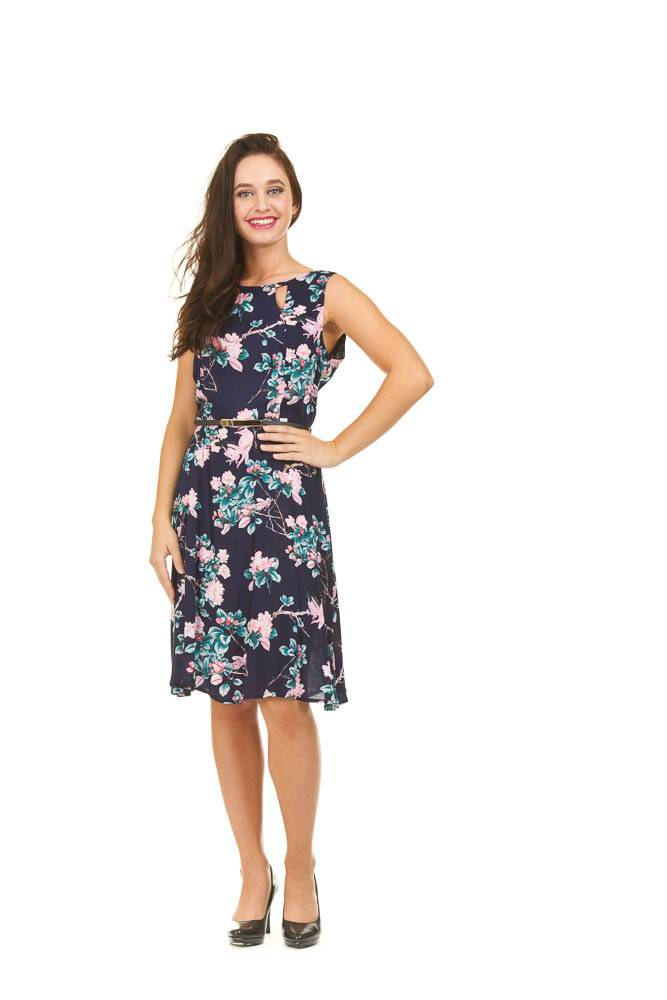 Papillon Helena- Fit & Flare Dress