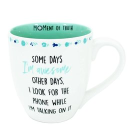 Mary Square Mug-Awesome