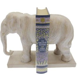 Streamline Elephant Bookend Set