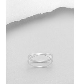 Sterling Sterling Ring- Double Bands