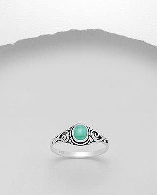 Sterling Sterling Ring- TQ