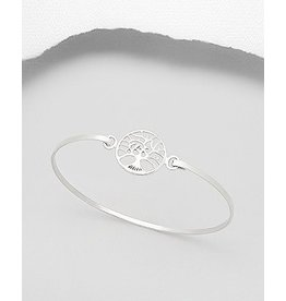 Sterling Bracelet- Tree Of Life
