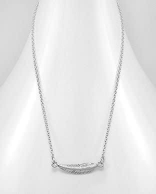 Sterling Necklace- Leaf