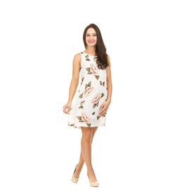 Papillon Sandra Rose Print Dress