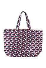 Rockflowerpaper Whale Jute Bag