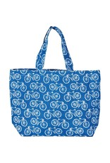 Rockflowerpaper Beach Cruisers Jute Bag