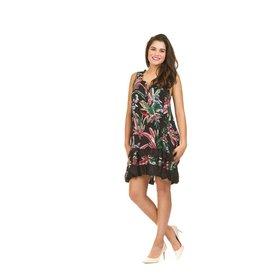 Papillon Bella Dress in Tropical Print