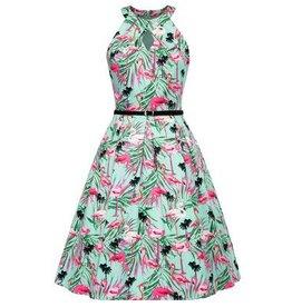 Frock It Flamingo Frenzy Dress