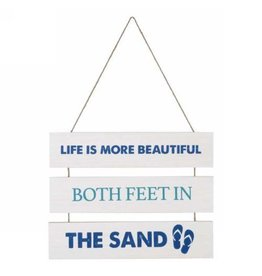 Wall Plaque- Life Is More Beautiful