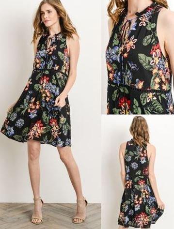 Mel Floral Dress