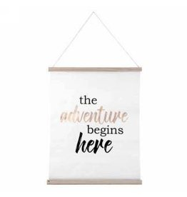 Wall Decor- Adventure Begins Here