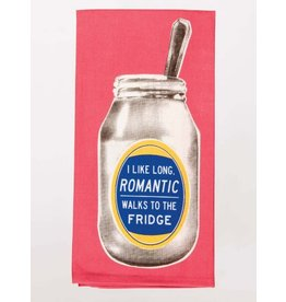 Blue Q Dish Towel-Romantic Walks