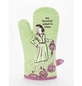 Blue Q Oven Mitt- My Favourite Salad
