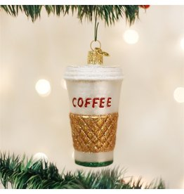 Old World Christmas Coffee Ornament