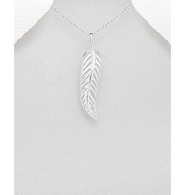 Sterling Sterling Silver Necklace- Leaf