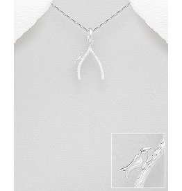 Sterling Sterling Wishbone W/Bird
