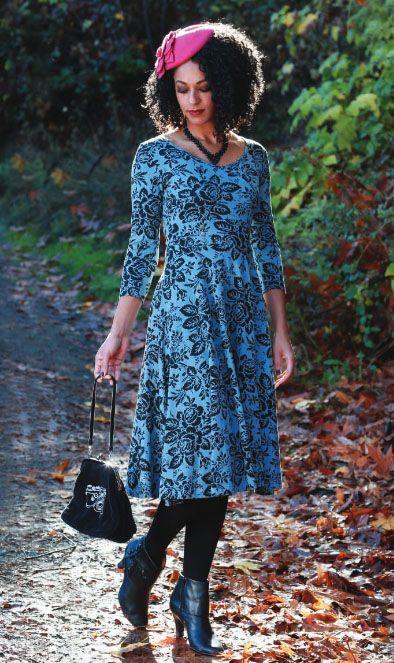 Effie's Heart Apolina Dress- Giverny Print