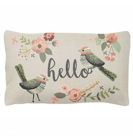 Karma Pillow- Bird