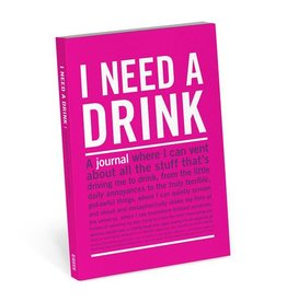Knock Knock Mini I Need a Drink Journal