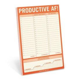 Knock Knock Productive AF! Pad