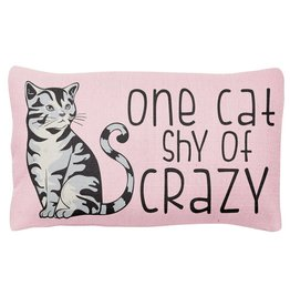 Stephen Joseph Pillow- One Cat Shy