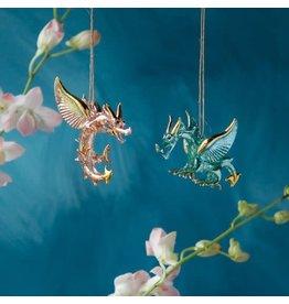 glitterville Dragon Ornament