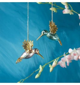 glitterville Hummingbird Ornaments
